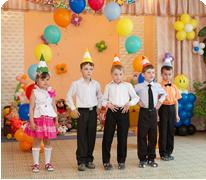 Выпускные в детском саду